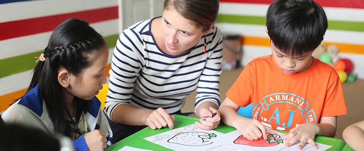 Tiếng Anh chủ động dành cho trẻ em